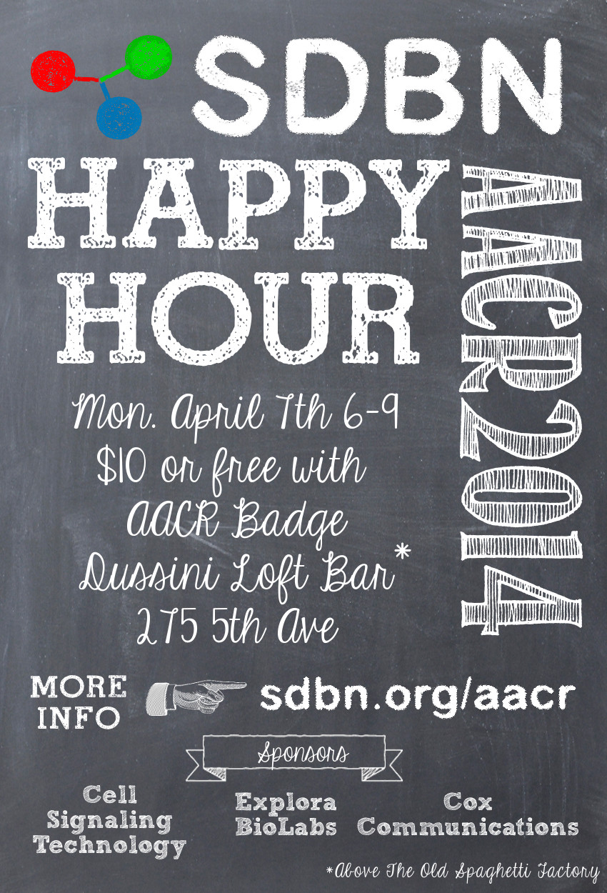 SDBNAACRHappy Hour 2014