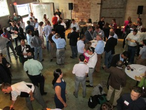 Networking and refreshments provided by Alchemy San Diego before the panel presentation.