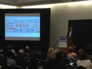 Wain Fishburn, moderator of Digital Health Forum at #BIO2014 speaks to the audience prior to panel discussion.