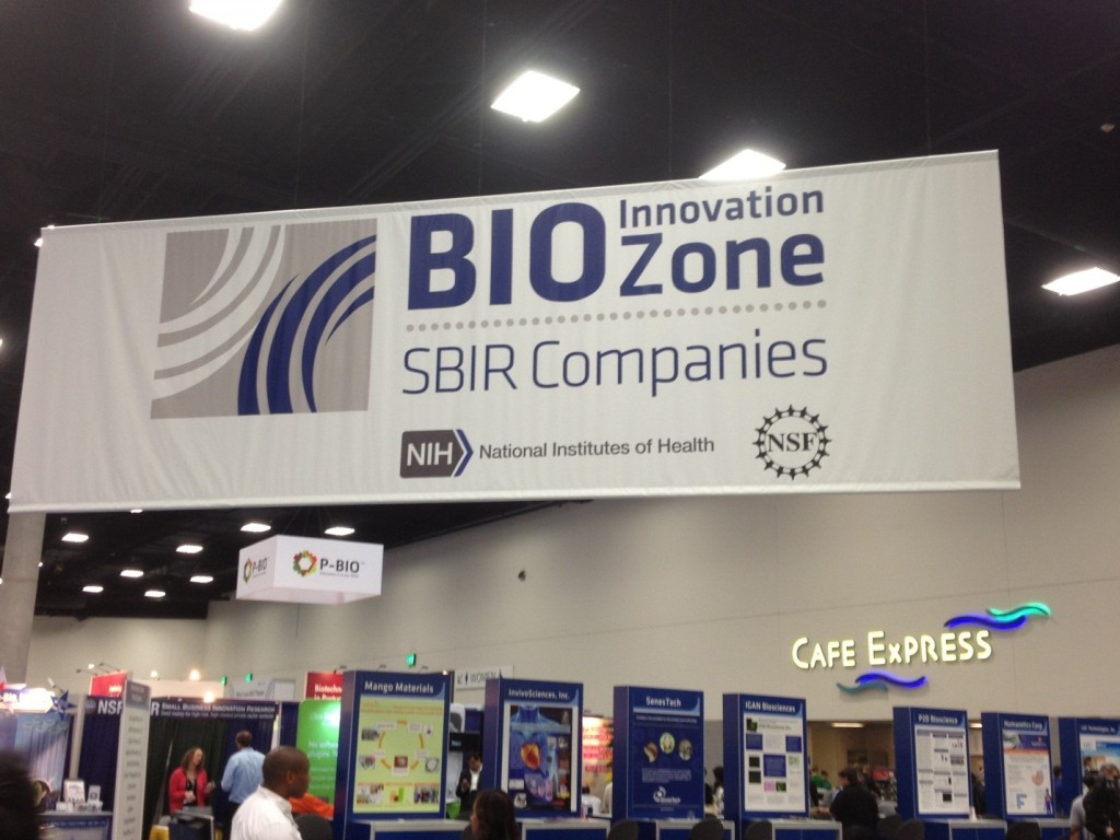 Image 1: Innovation Zone at @BioConvention Exhibitor Hall