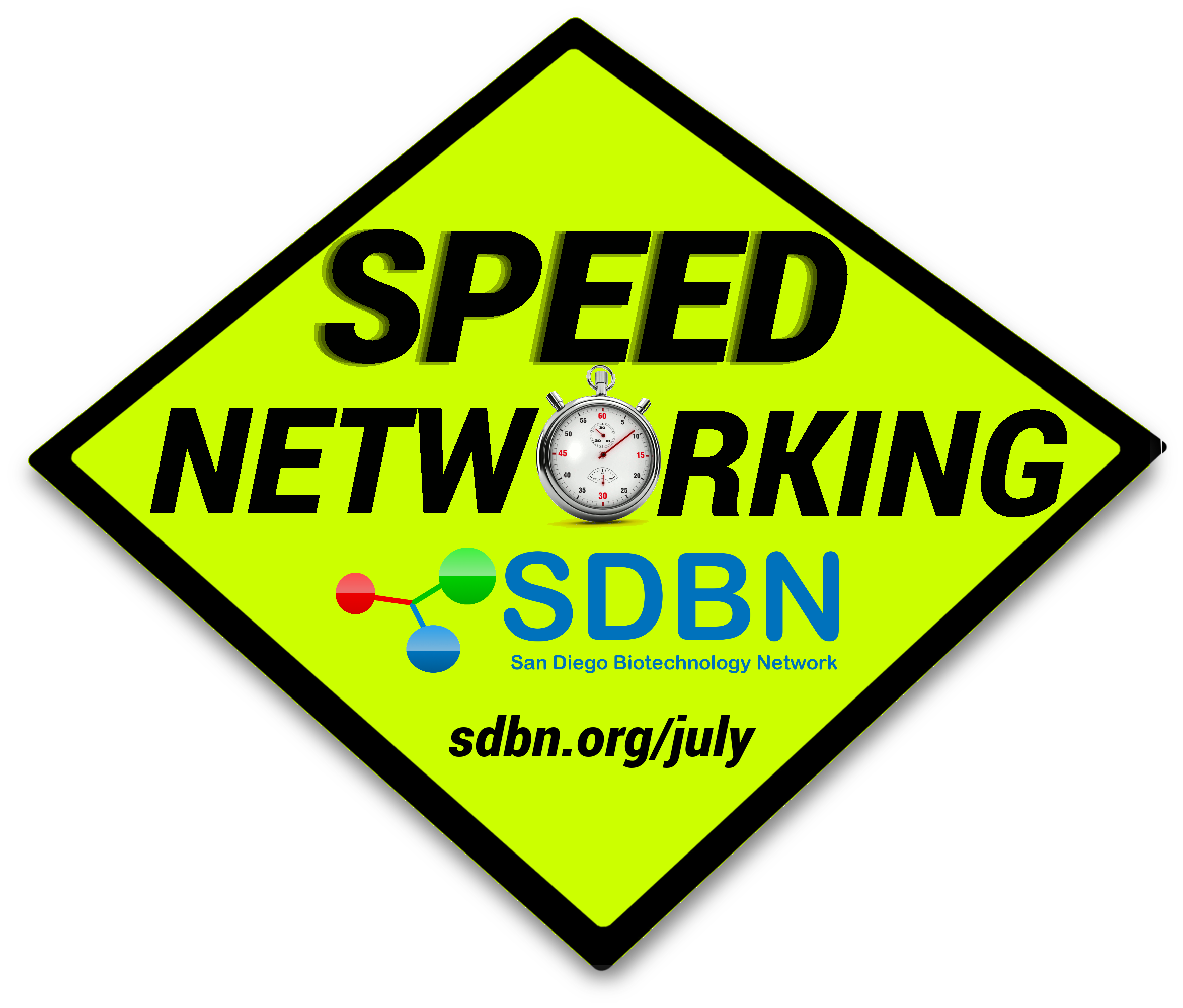 Speed Networking Sign