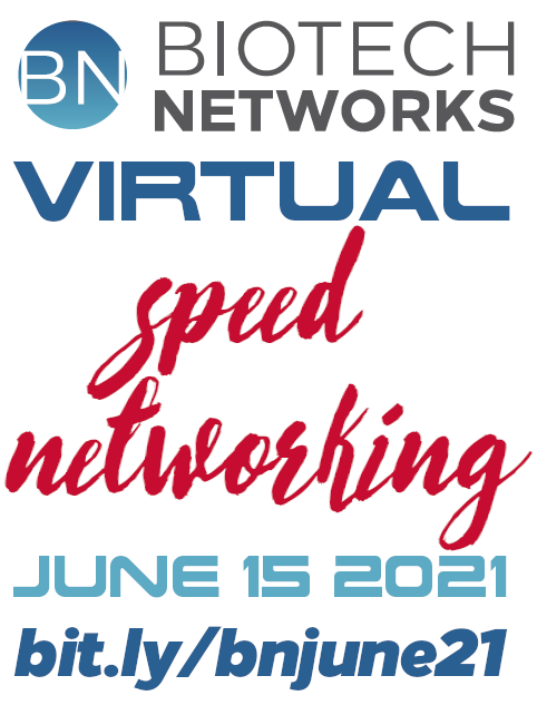 Biotech Networks Virtual Speed Networking June 15th 2021